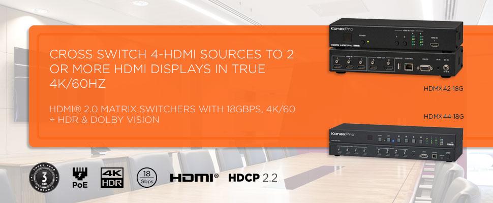 HDMI2.0 4X4