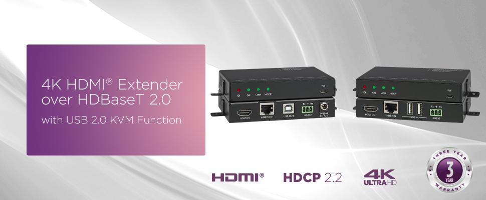 4K USB KVM Extender