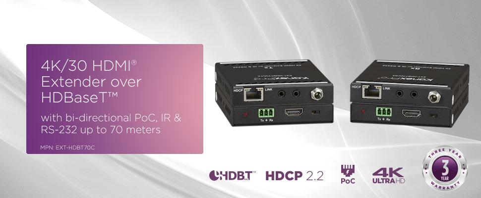 70m basic extender - EXT-HDBT70C