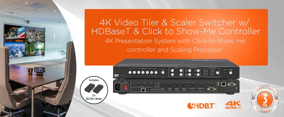 4K Video Tiler