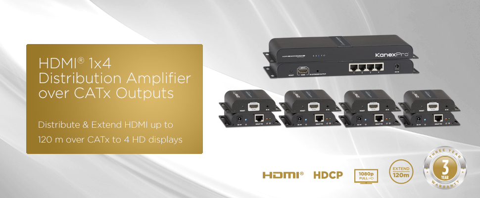 1X4 HD Splitter