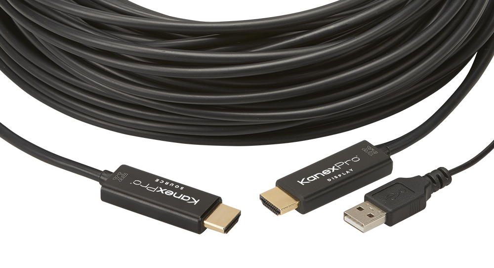 18G HDMI® Active Optical Cable with 4K/60Hz - 50m