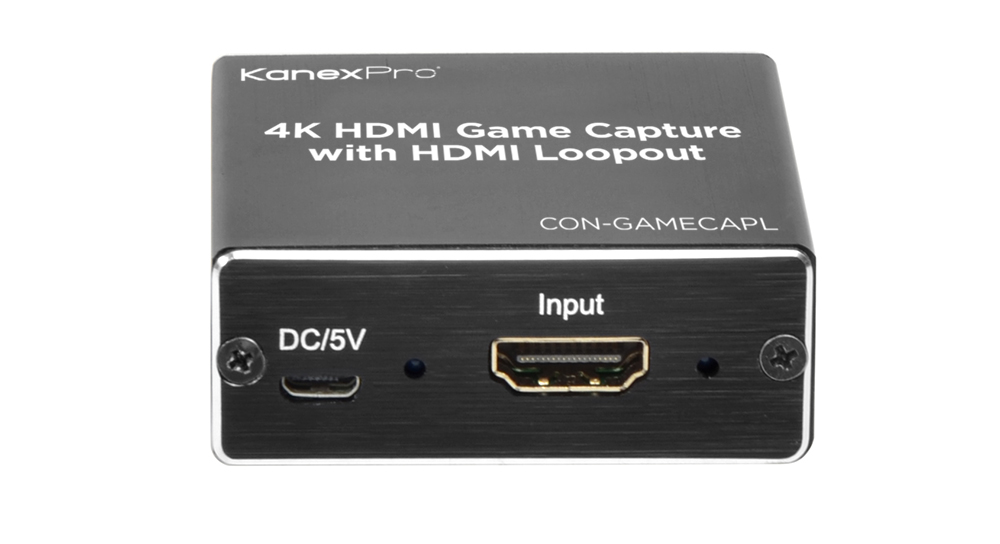 Capture, Stream, Record from an HDMI source and send it to your PC or to the web