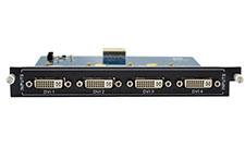 4-Input DVI card for Modular matrix