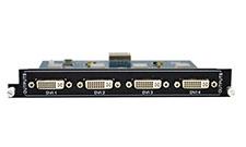 4-Output DVI card for Modular matrix