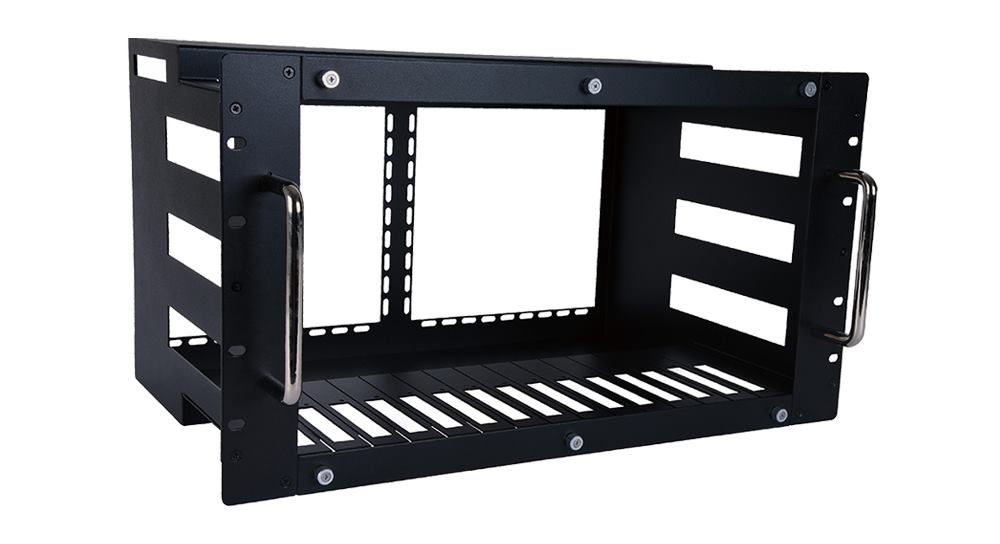 Organize and Declutter with this 6U Rack for EXT-PROMATRIXUSB/EXT-PROCTRL