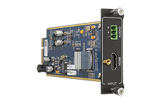 Flexible One Input 4K HDMI card with Audio
