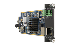 Flexible One Input HDBaseT 1080p card with Audio