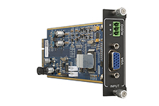 Flexible One Input VGA card with Audio