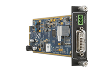 Flexible One Output DVI card with Audio