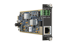 Flexible One Output 4K HDBaseT card with Audio