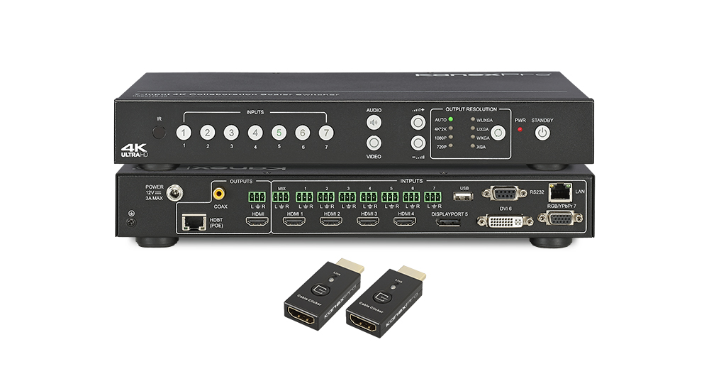 4K/60 System Switcher with Up / Down Scaler & Audio Breakaway