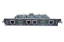 4-Input HDBaseT card for Modular matrix with 4K