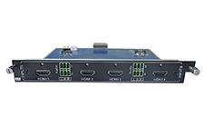 4-Input HDMI card for Modular matrix with 4K