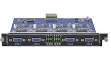 4-Input VGA card with Audio for Modular matrix