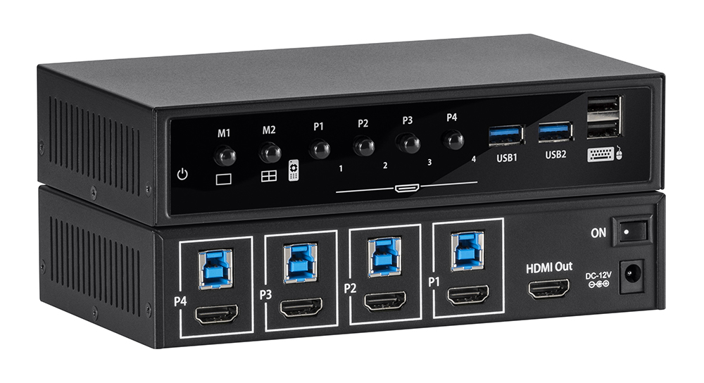 Seamless Switching HDMI 1080p/60Hz with USB 3.0